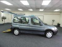 2008 PEUGEOT PARTNER COMBI ESCAPADE HDI + MOBILITY + WHEEL CHAIR ACCESSIBLE +