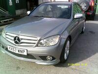 Mercedes C Class C 220 CDI SPORT (aluminium/silver) 2007