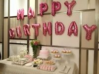 Happy birthday balloons 16'