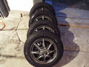 195-65-15 GOODYEAR WINTER TIRES  FORD FOCUS