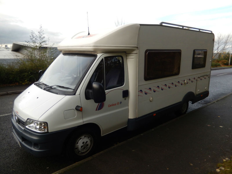 CI Carioca 15P 4 Berth Fixed French Bed Motorhome For Sale