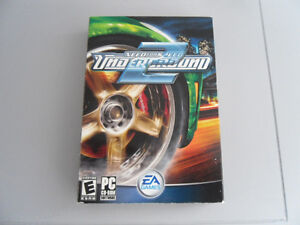 NEED FOR SPEED UNDERGROUND 2 FOR PC FOR SALE
