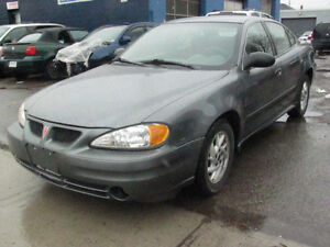 2005 Pontiac Grand Am 4doors Auto Sedan ,Safety E test 94000 KM