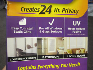 Gila Privacy Control Window Film (3ft by 10 ft) + Installation K Kitchener / Waterloo Kitchener Area image 5