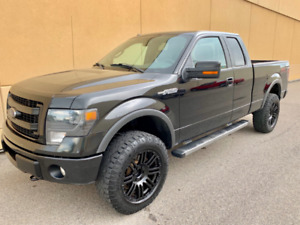 2014 FORD F-150 LARIAT FX4 EXTENDED CAB ! AWESOME DEAL !