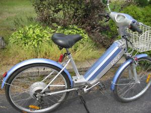 Vélo Électrique Velec 36 Volts 500 watts Bleu Ciel Tout équipé