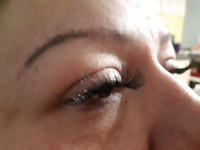 Temporary LASHES!!! LASTS ALL WEEKEND