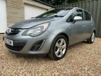 2013 Vauxhall Corsa 1.2 i 16v SXi 5dr (a/c) Hatchback Petrol Manual