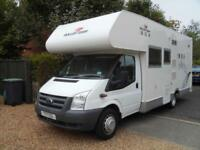 Roller Team Box 4 Berth 4 Belted Seats Rear Fixed Bed Motorhome For Sale