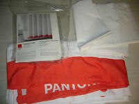"Pantone Shower Curtain 72"" x 72"""