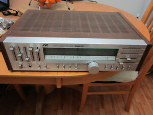 JVC Stereo Receiver And 2 Sony Speakers