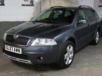 Dec 2007 57 SKODA OCTAVIA 2.0 TDi PD 140 SCOUT AWD 4x4 ESTATE Auto Lights/Wipers