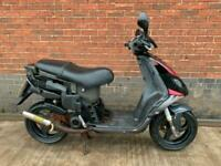 Piaggio NRG 50 50cc 2005 hpi clear sports exhaust 2 two stroke spares or repair