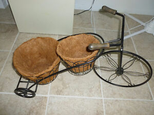 Tricycle a fleurs