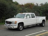 2006 56 GMC 3500 6.0LTR PETROL/LPG AUTO DOUBLE CAB TWIN WHEEL PICK UP