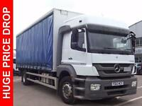 2013 Mercedes-Benz Axor 1824LS LOW MILEAGE Diesel white Automatic