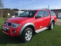 Mitsubishi L 200 Raging Bull Red Manual 2008