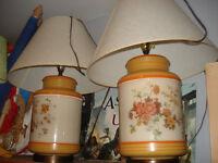 2 très belle lampe année 1970