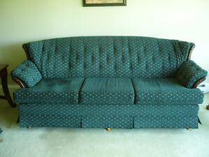 Hunter green sofa/couch