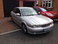 Jaguar x type 2.0t diesel sport 55 plate silver good condition