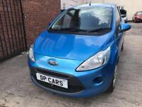 Ford Ka 1.2 2009 (59) - Style - Petrol- Metallic Blue - MOT July 2019