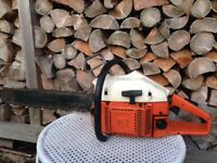 Husqvarna chainsaw 61 spares or repair