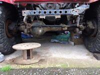 Nissan patrol axles y61 pair of rear diff lock, suit offroader