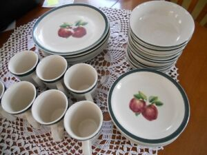 Apple design dishes for sale