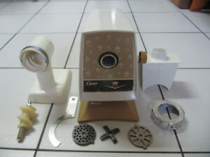 Classic Oster Imperial Food Grinder/Mill Model 946-68F Circ1970s