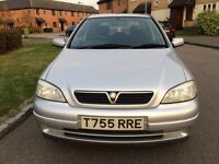 Vauxhall Astra 1.6 one year mot great condition in and out drives very well
