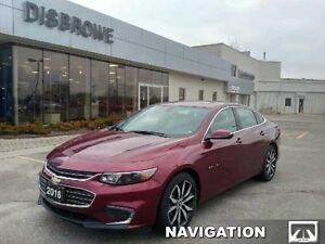 2016 Chevrolet Malibu LT   Navigation, Remote Start, Sunroof, Le
