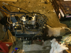 350 sbc with th400 transmission