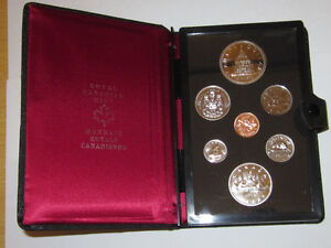 Mint Uncerculated Canadian Coin sets