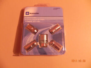 GM WHEEL LOCKS # 12498078