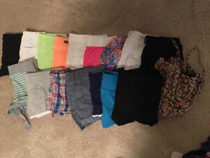 18 pairs of shorts size small