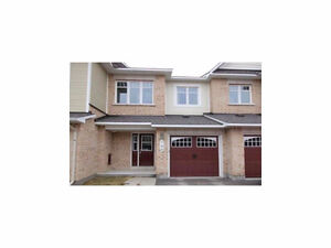 **Executive 3 bdrm/3 bath townhome in Orleans available now**