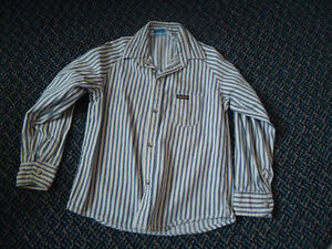 Boys size 4 Long Sleeve Striped Dress Shirt by OshKosh B'Gosh