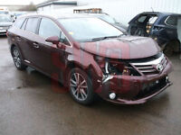 2015 Toyota Avensis Icon Business Ed 2.0 DAMAGED REPAIRABLE SALVAGE