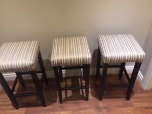 Three bar stools North Shore Greater Vancouver Area image 3