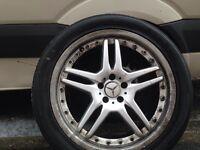 """Mercedes ml 20"""" alloys"""