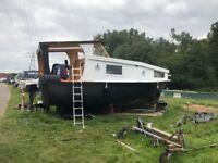 Houseboat for sale £13,000 very cheap as bought a flat now. New BSS certificate