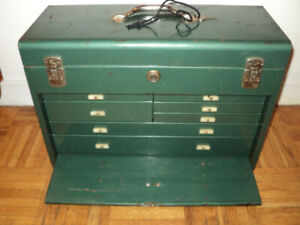 VINTAGE BEACH INDUSTRIES TOOL CHEST- 1950's