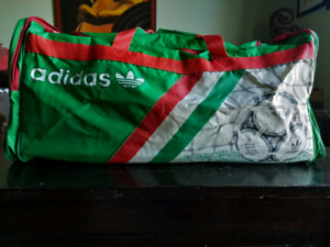 Vintage 1990 World Cup ADIDAS duffle soccer bag