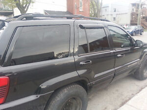 2004 Jeep Grand Cherokee 4.7l h/o full load limited pa rouile
