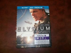ELYSIUM  BLURAY/DVD COMBO                    FOR SALE