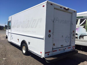 Purolator truck/food truck