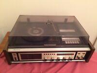 Sanyo G-2601KCA vintage/ retro record/cassette player