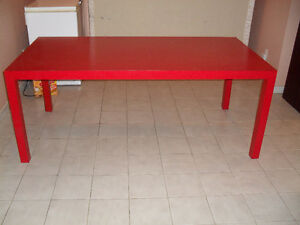 Large Parsons Table/Workshop Table Cambridge Kitchener Area image 1