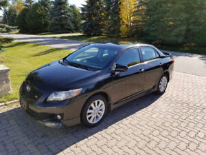 2009 TOYOTA COROLLA S SPORT, New Tires, New Safety!