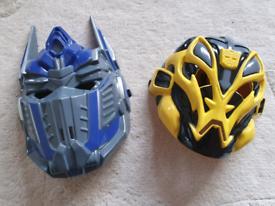 Kids Transformers dress up masks